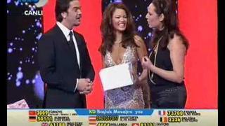 Beyaz Show - Yasemin Hadivent & Kutsi 1.Kisim