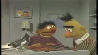 Bird Brain Checkers With Bert & Ernie (HD)