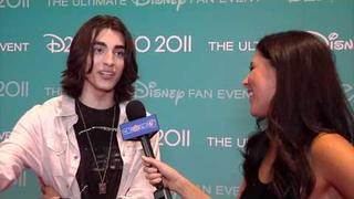 Blake Michael Chats 'Lemonade Mouth 2' At D23 Expo 2011