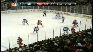 Blues @ Wings 1/23/12 (Game Highlights - NBC)