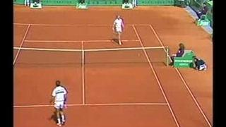 Boris Becker vs. Mansour Bahrami