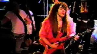 Cacophony - Jason Becker and Marty Friedman guitar duel - live in Japan 89 rare video