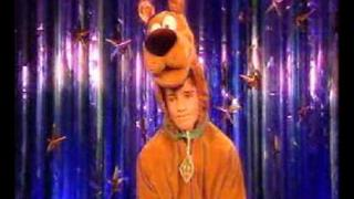 calvin goldspink as scooby doo!