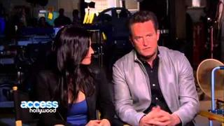 Courteney Cox and Matthew Perry Interview 2013