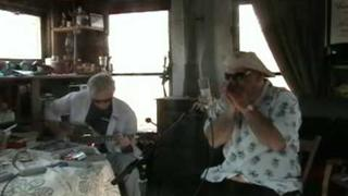 Danny B and Jake Thomas - Walkin Blues