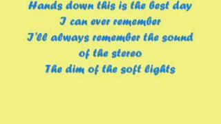 Dashboard Confessional - Hands Down - Lyrics