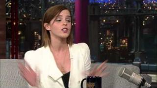 David Letterman - Emma Watson In Iceland