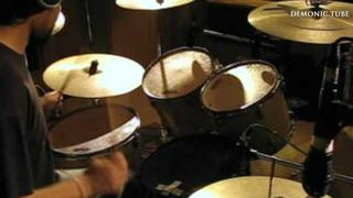 Demonic Resurrection - Bound By Blood Fire And Stone - Virendra Kaith Drum Cam