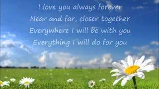 Donna Lewis - I Love You Always Forever (Lyrics)