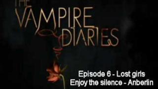 enjoy the silence - Anberlin - The vampire diairies