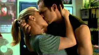 Eric & Sookie's Real First Kiss!