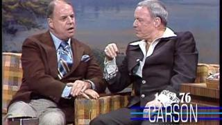 Frank Sinatra and Don Rickles Appear on &quot;The Tonight Show Starring Johnny Carson&quot;  1976