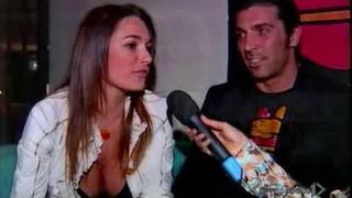 Gianluigi Buffon e Alena Seredova