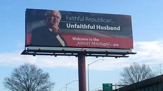 Gingrich Pro-Adultery Site Endorsement (Ashley Madison Billboard)