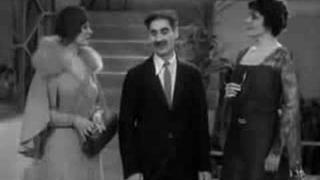 Groucho Marx Animal Crackers Bigamy!