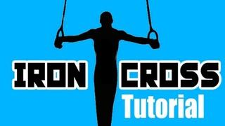 How to do the Iron Cross- Gymnastics Skill Training Tutorial