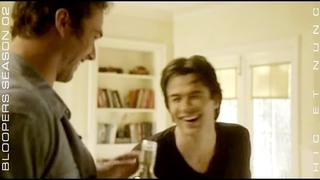 Ian Somerhalder Bloopers in TVD