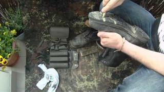 Impregnacja butów wojskowych