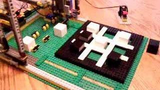 LEGO Tic-Tac-Toe robot