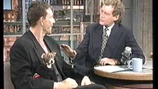 mickey rourke interview on the late show 1994