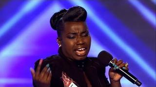 Misha Bryan's audition - The X Factor 2011 - itv.com/xfactor