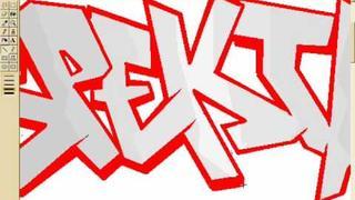 Ms Paint Graffiti SPEKTR
