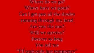 Nick Lachey Ft. Kara DioGuardi - Temporary with lyrics