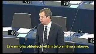 Nigel Farage přeje štastné a veselé a předpovídá rozpad EU