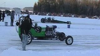 Outlaw class at Merrill Ice drags