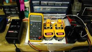 Part1 - How to revive / rejuvenate / fix a bad rechargeable NiCd battery for cordless drill