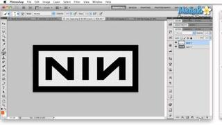 Photoshop Tutorial - Logo Case Study - Nine Inch Nails