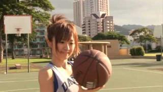 Playing Basketball With Asami Konno