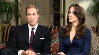 Prince William and Kate Middleton - Interview