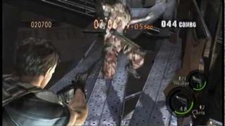 "Resident Evil 5 ""The Mercenaries"" Experimental Facility DUO (STARS Wesker/BSAA Chris) - 789K"