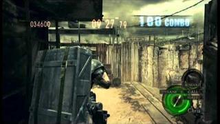 "Resident Evil 5 ""The Mercenaries Reunion"" Public Assembly DUO (Heavy Metal Chris/Barry) - 901K"
