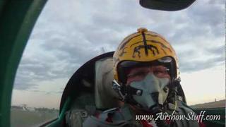 RideAlong! Will Ward - MiG-21 - Sunset Flight On-Board Camera (Rear View)
