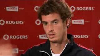 ROGERS MASTERS TENNIS TORONTO - ANDY MURRAY INTERVIEW