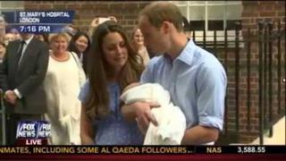 Royal Baby Fisrt Appearance