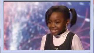 Simon Likes: Natalie Okri -10 Year Old Singer - Britains Got Talent 2009 Ep 6