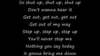 Simple Plan: Shut Up (lyrics)