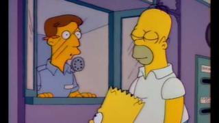Simpsons Mr. Burns letter