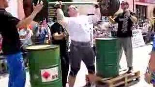 Strongman Caslav 2008