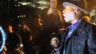 Talib Kweli - Shows Solidarity at OccupyWallStreet