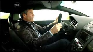 Testuje Lamborghini Gallardo LP560-4 na sněhu
