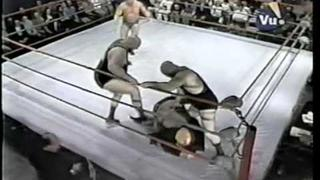 The Crusher cuts up Mad Dog Vachon