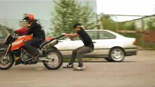 The Dudesons Season 3 - Return of Jarppi's Thumb - Asfalt Burner