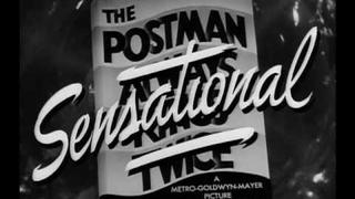 The Postman Always Rings Twice (1946) Trailer