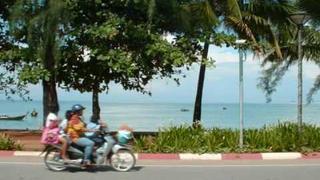 Tuk Tuk Taxi Around Ao Nang, Krabi, Thailand