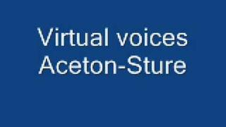 virtual voices - Aceton-Sture