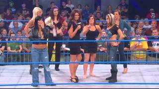 "VP of Knockouts Karen Jarrett Gives a ""Pep-Talk"""